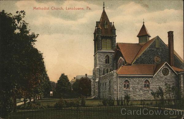 Methodist Church Lansdowne Pennsylvania