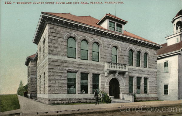 Thurston County Court House and City Hall Olympia Washington
