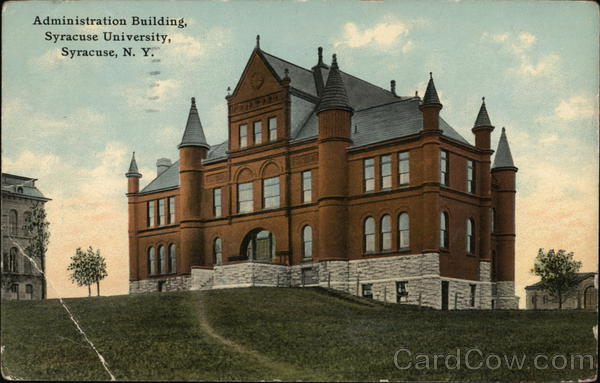 Administration Building, Syracuse University New York