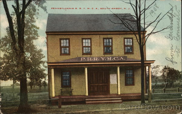 Pennsylvania R.R. Y.M.C.A. South Amboy New Jersey