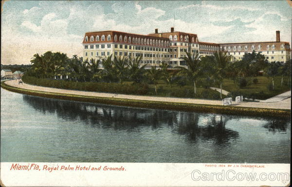 Royal Palm Hotel and Grounds Miami Florida