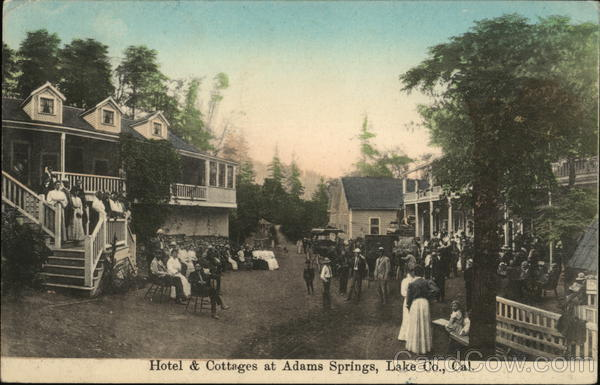 Hotel & Cottages at Adams Springs California