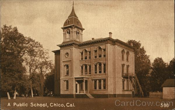 Public School Chico California