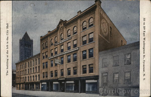 C. W. Bardeen - East Washington Street Syracuse New York
