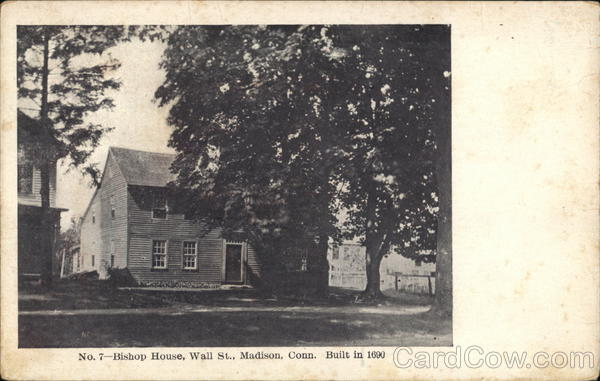 Bishop House, Wall St. Madison Connecticut