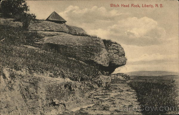 Witch Head Rock Liberty New York