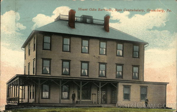 Mount Odin Barracks, State Constabulary Greensburg Pennsylvania