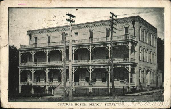 Central Hotel Belton Texas