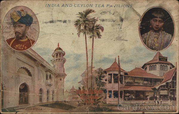 India and Ceylon Tea Pavilions