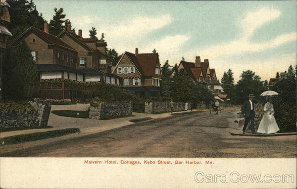 Malvern Hotel Cottages, Kebo Street Bar Harbor Maine
