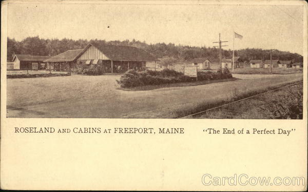 Roseland and Cabins Freeport Maine