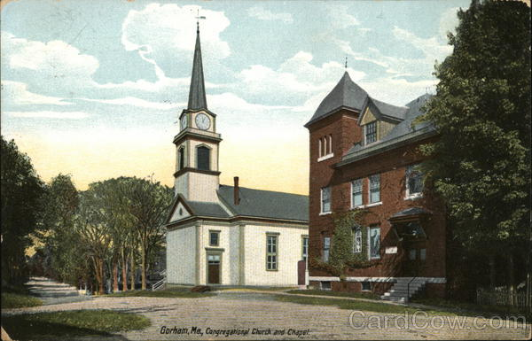 Congregational Church and Chapel Gorham Maine