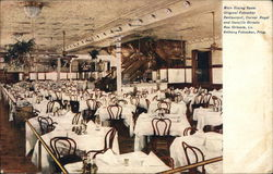 Main Dining Room, Original Fabacher Restaurant