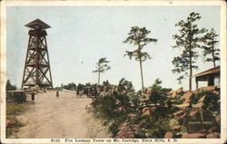 Fire Lookout Tower on Mt. Coolidge