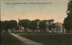 Webster, Administration Buildings and College Church