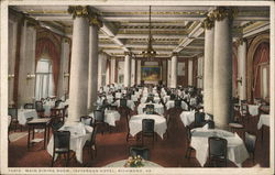 Main Dining Room, Jefferson Hotel