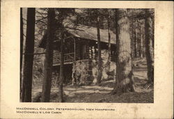 MacDowell Colony, MacDowell's Log Cabin