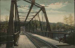 Trolley Bridge Crossing Naugatuck River