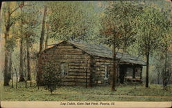 Log Cabin, Glen Oak Park