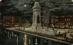 Clinton Square at Night