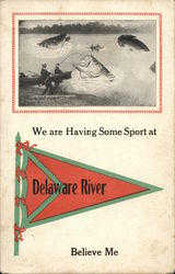 We Are Having Some Sport at Delaware River