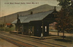 U. & D. Mount Pleasant Station