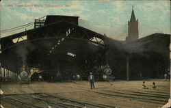 Union Depot Train Sheds