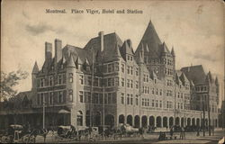 Place Viger, Hotel and Station