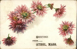 Greetings from Athol, Mass. Postcard