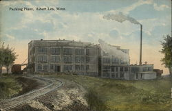 Packing Plant Postcard
