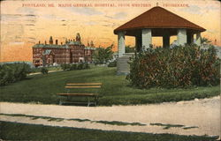 Maine General Hospital from Western Promenade