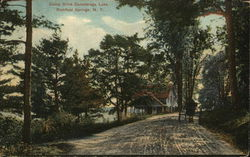 Camp Drive Canadarago Lake Postcard