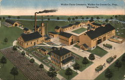 Walker Farm Creamery, Walker Ice Cream Co. Postcard