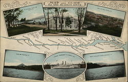 Map and Guide to the Hudson River
