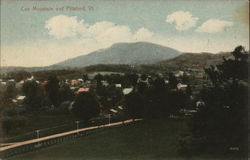 View of Cox Mountain and Town