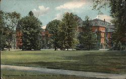 View from Road of Vassar College, Main Building
