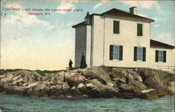 Lime Rock Light House, Ida Lewis Under Light