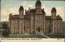 Hall of Languages, Syracuse University