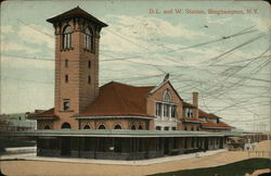 D. L. and W. Station