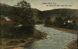 Beaverkill River Above the Falls