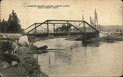 Webster Bridge Across Jordan River