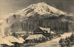 Mount Shasta - Winter Scene