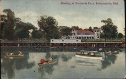 Boating at Riverside Park