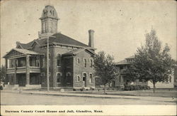 Dawson County Court House and Jail
