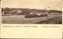 Roseland and Cabins Postcard