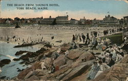 The Beach from Young's Hotel