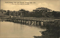 York Country Club and Sewalls Bridge