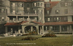 Entrance, Passaconaway Inn