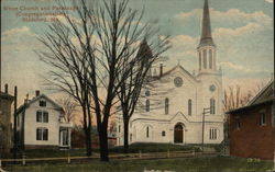 White Church and Parsonage (Congregationalist)