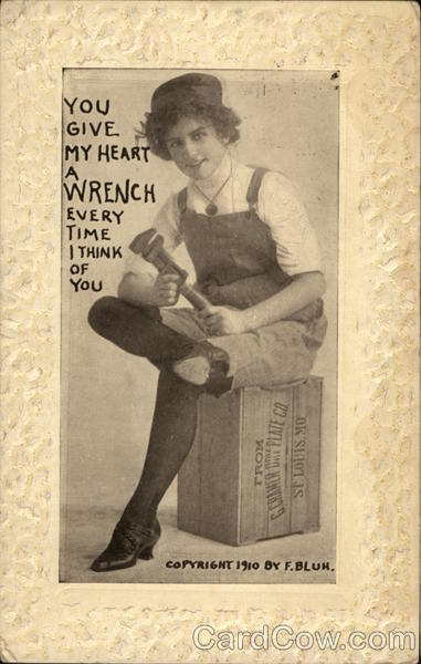 You give my heart a wrench Romance & Love